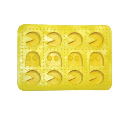 Bac à glaçons Jaune PacMan
