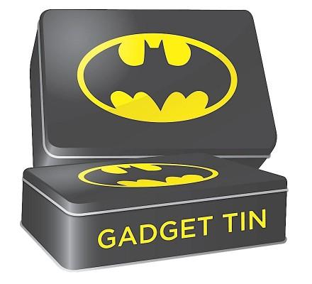 Boîte Métal Noire 19 cm Gadget Tin Batman