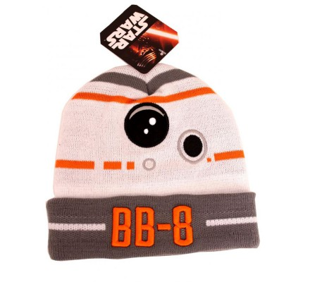 Bonnet Blanc BB8 Droid Star Wars