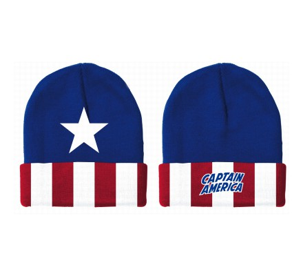 Bonnet Bleu Flag Captain America