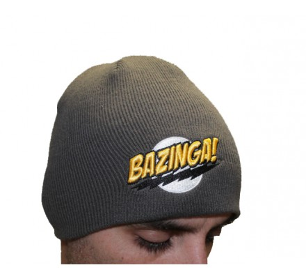 Bonnet Gris Bazinga The Big Bang Theory