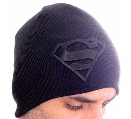 Bonnet Gris Logo Superman