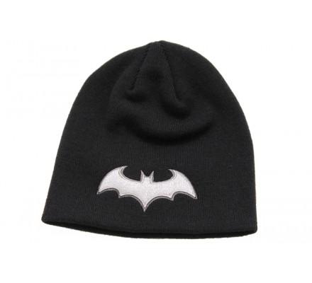 Bonnet Noir Classique Logo Blanc Batman