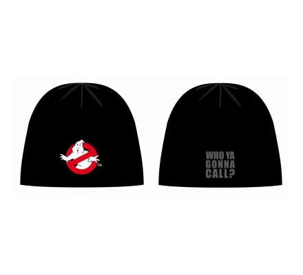 Bonnet Noir Logo Beannies Ghostbusters
