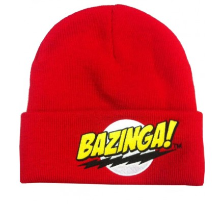 Bonnet Rouge Bazinga The Big Bang Theory