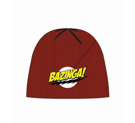 Bonnet Rouge Modèle Bazinga The Big Bang Theory