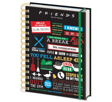 Carnet Bloc Notes A5 Friends