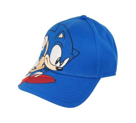 Casquette Bleue Baseball Running Sonic