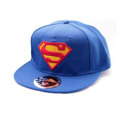 Casquette Bleue Classic Logo Superman