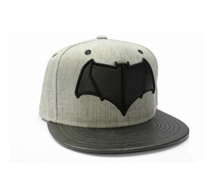 Casquette Grise Logo Noir Batman VS Superman