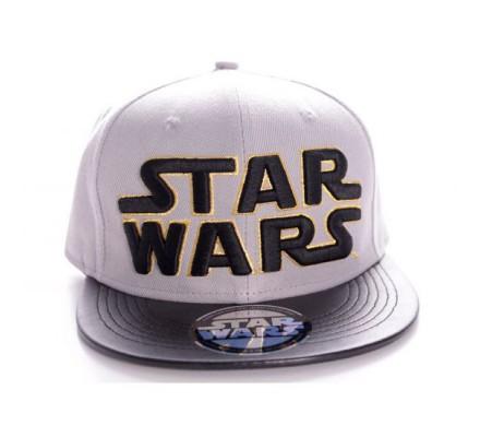 Casquette Grise Logo Noir Star Wars