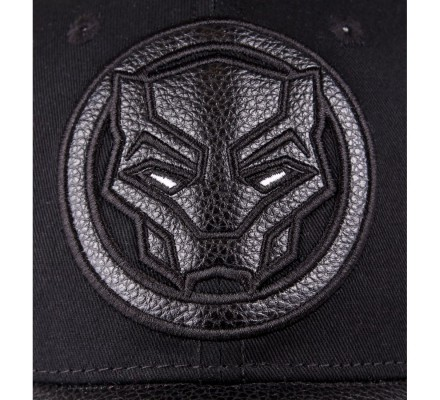 Casquette noire Black Panther