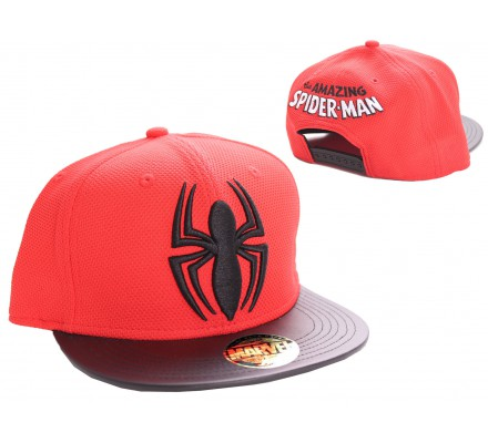 Casquette Rouge Black Spider Spiderman