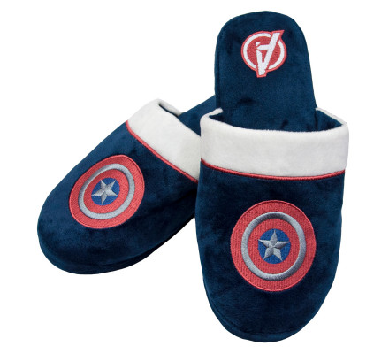 Chaussons Adulte Logo Shield Captain America