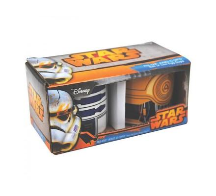 Coquetier R2D2 et C3PO Star Wars