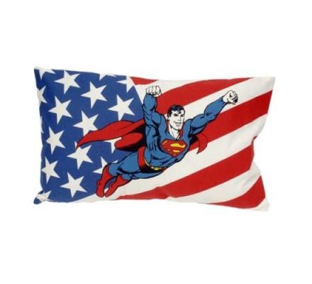Coussin Drapeau USA Superman