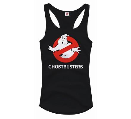 Débardeur Femme Noir Logo Ghostbusters
