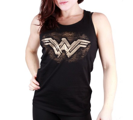 Débardeur Femme Texture Wonder Woman
