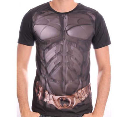Tee Shirt Costume Dark Knight Batman