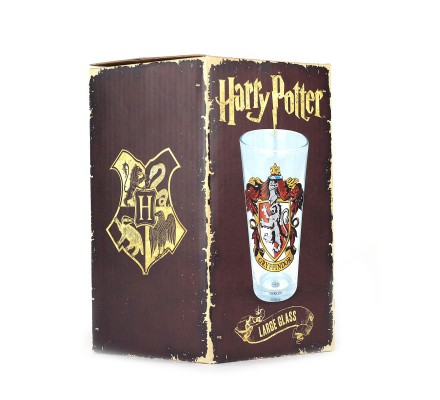 Grand verre Gryffondor Harry Potter