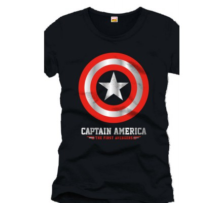 Tee-Shirt Nayy The First Avengers Captain America