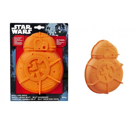Moule à gâteau en Silicone Orange BB-8 Star Wars
