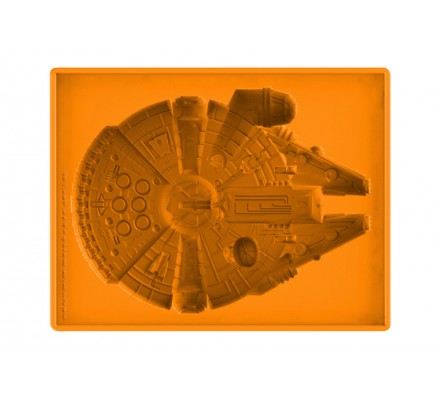 Moule en Silicone Orange Millennium Falcon Star Wars