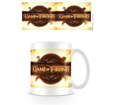 Mug Blanc Céramique Opening Logo Game of Thrones