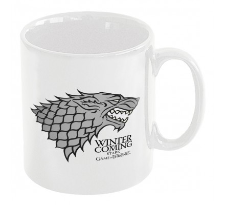 Mug Blanc Céramique Stark Game of Thrones