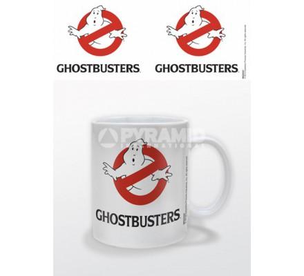 Mug Blanc Logo Ghostbusters