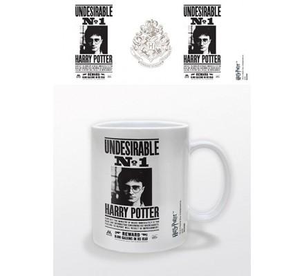 Mug Blanc Undesirable No 1 Harry Potter