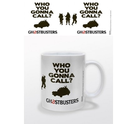 Mug Blanc Who You Gonna Call Ghostbusters