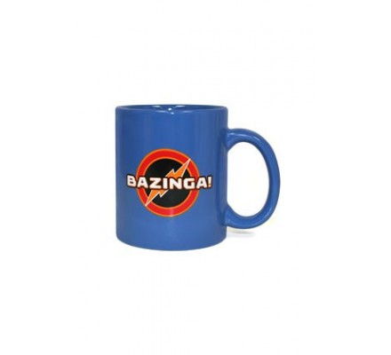 Mug Bleu Bazinga The Big Bang Theory