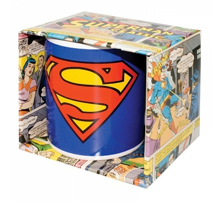 Mug Bleu Logo 2 Superman