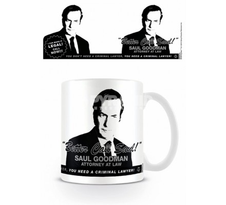 Mug Can Make It Legal Better Call Saul