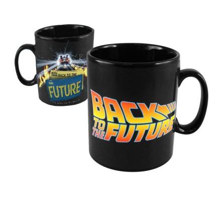 Mug Céramique Noir Retour Vers le Futur