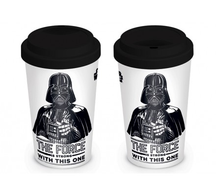 Mug de Voyage Dark Vador The Force is strong Star Wars
