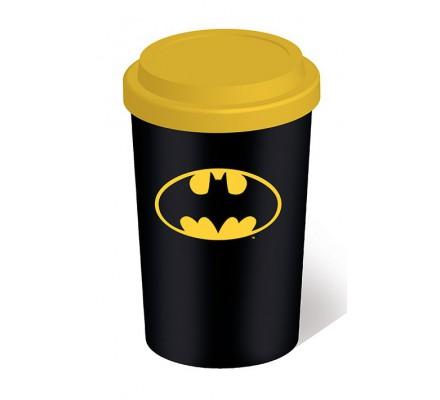 Mug de voyage Noir Logo Batman