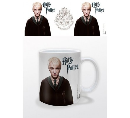 Mug Draco Malfoy Blanc Harry Potter