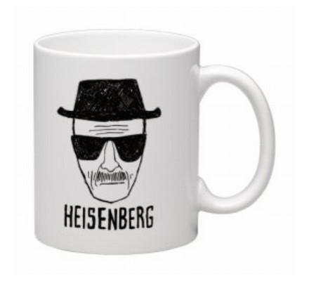 Mug Heisenberg Blanc et Noir Breaking Bad