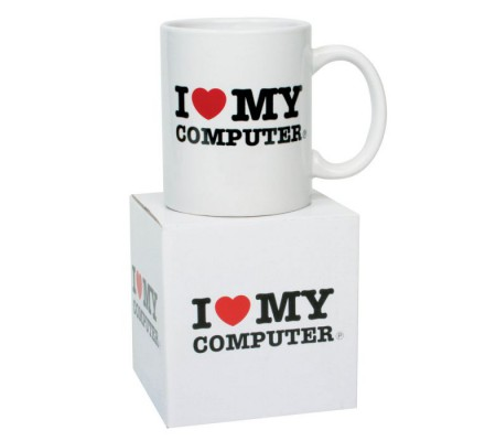 Mug I Love My Computer Geek