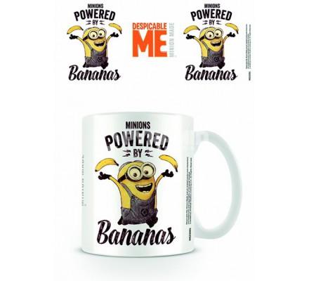 Mug Powered Bananas Minion Moi Moche et Méchant