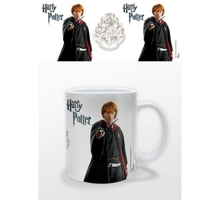 Mug Ronald Weasley Blanc Harry Potter