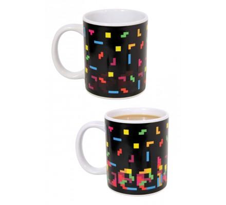 Mug Thermique Geek Heat Tetris