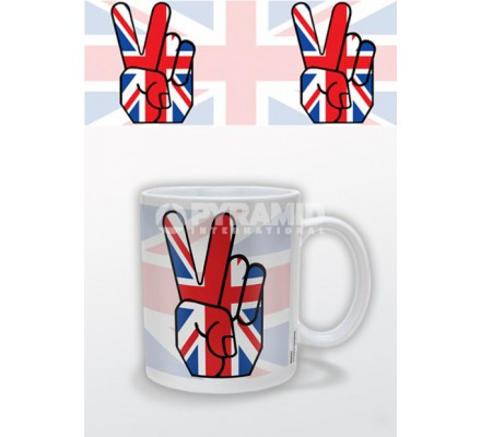 Mug Union Jack Peace Londres