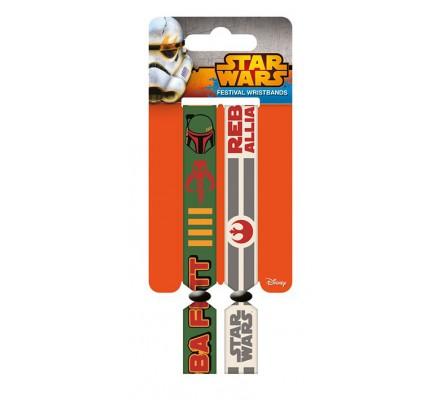 Pack de 2 Bracelets Rebellion Star Wars