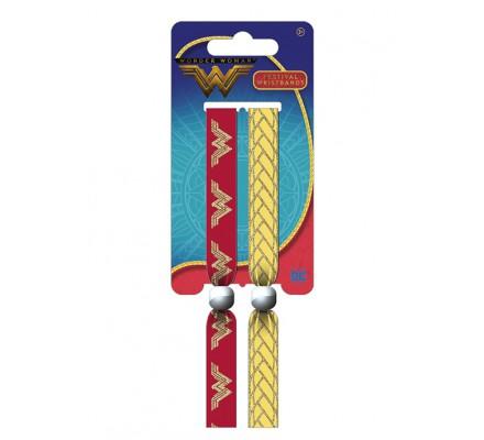 Pack de 2 Bracelets Wonder Woman
