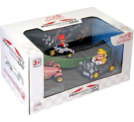 Pack de 3 Voitures à Friction Mario Kart Nintendo