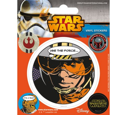 Pack de 5 Stickers Rebellion Star Wars
