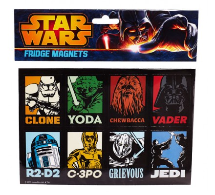 Pack de 8 aimants Star Wars